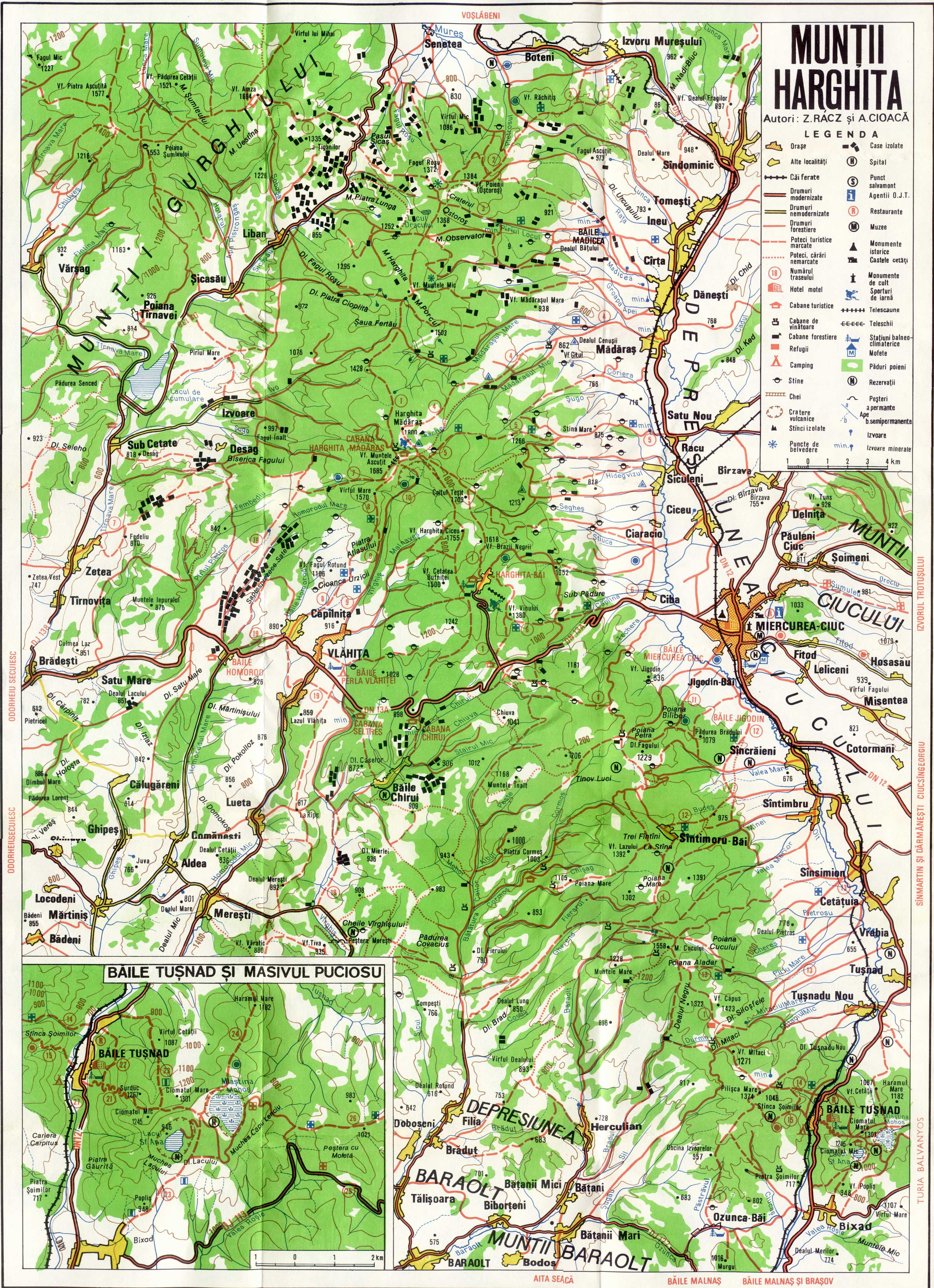 madarasi hargita térkép Túrák   Madarasi Hargita   Gyalogtúrák a Madarasi Hargitán